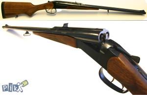 Dvokuglara puska,Baikal MP 221 Artemida Cal.30-06