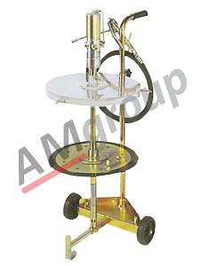 Set za istakanje masti sa točkićima, Weber WE-46630